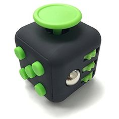Fidget Box Relieves Stress And Anxiety for Children and Adults Anxiety Attention Toy (Green Black) >>> Continue to the product at the image link. (This is an affiliate link and I receive a commission for the sales) #NoveltyGagToys