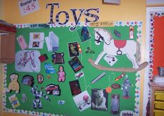 A super Toys classroom display photo contribution. Great ideas for your classroom! Ks1 Classroom, Classroom Displays, Classroom Themes, Classroom Design, Victorian Toys, Kindergarten Stem, Toy Story Theme, Diy Toy Storage, Toy Display