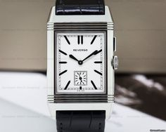 Jaeger-LeCoultre Grande Reverso Ultra Thin Duoface ad: $7,200 Jaeger-LeCoultre 3788570 Grande Reverso Ultra Thin Duoface SS... Ref. No. 3788570; Steel; Manual winding; With box; With papers; Location: United States, MA, Bo
