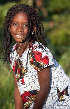 African Print Fabric dress