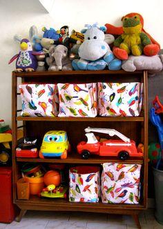 Ideal para que los chicos pequeños puedan guardar y ordenar sus juguetes, son livianas, flexibles, coloridas y se lavan fácilmente en el lavarropas.    La doble tela le aporta rigidez para que se mantenga estable.