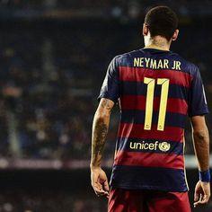7 goles y 5 asistencias en sus últimos 6 partidos con el FC Barcelona. NEYMAR.