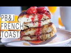 Vegan PB&J French Toast from Edgy Vedgy