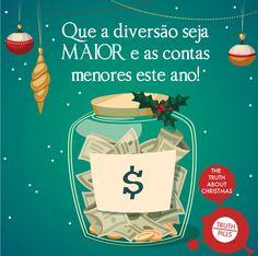O dinheiro vivo é o método de pagamento mais usado para as compras de #Natal. #TruthPills #McCANN