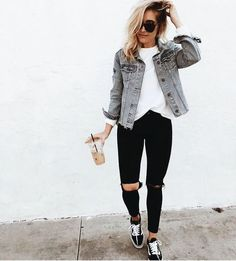 Casual Outfits With Denim Jeans For College This Fall 2018 36 . - Casual Outfits With Denim Jeans For College This Fall 2018 36 # Best - Outfit Jeans, Fall Winter Outfits, Spring Outfits, Holiday Outfits, Halloween Outfits, Holiday Clothes, Outfit Summer, Winter Clothes, Diy Halloween