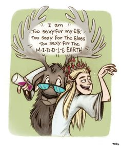 Party King Thranduil... Yeeeah, I think you have got enough.