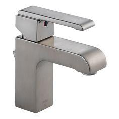 586LF-SSMPU - Single Handle Centerset Lavatory Faucet