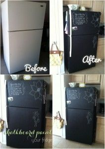 Chalkboard Fridge