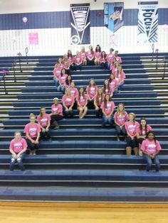 Support Breast Cancer <3 volleyball Fight for a Cure (: