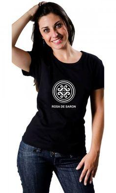 Camiseta Rosa de Saron por apenas R$38.90