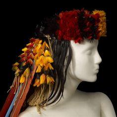 """Coiffe"". Marseille, musée d'Arts africains, océaniens, amérindiens - (C) Ville de Marseille, Dist. RMN-Grand Palais / David Giancatarina"