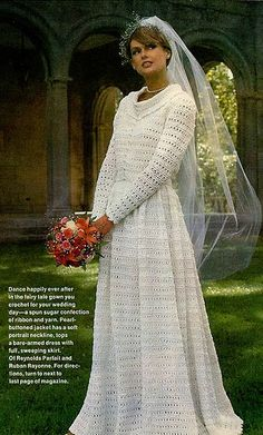 I found my wedding gown crochet pattern! *cough*