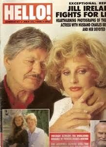 Charles Bronson & Jill Ireland. They married in 1968. On May 18, 1990, aged 54, after a long battle with the disease, Jill Ireland died of breast cancer at their home in Malibu, California