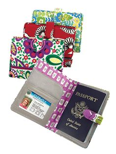 vera bradley passport cover, love it!