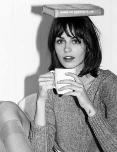 Marta Dyks by Matt Jones for Elle Italia December 2014 #style fashion #shorthair #editorial