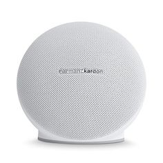 Harman/kardon - Onyx Mini Portable Wireless Speaker - White  http://topcellulardeals.com/product/harmankardon-onyx-mini-portable-wireless-speaker/?attribute_pa_color=white  Wireless Bluetooth Streaming – Stream music wirelessly via Bluetooth to enjoy room-filling sound. Connect up to 3 smart devices at the same time and take turns playing music. Rechargeable Battery – Built-in rechargeable Li-ion battery supports up to 10 hours of playtime. Built-in Microphone &#8