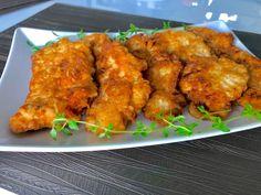 Soczyste sznycle jogurtowe - Blog z apetytem Tandoori Chicken, Chicken Wings, Food And Drink, Low Carb, Meat, Vegetables, Cooking, Breakfast, Ethnic Recipes