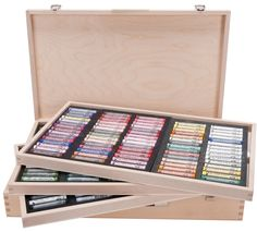 Rembrandt Soft Pastel 225 Color Wood Box Set