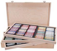 Rembrandt Soft Pastel 225 Color Wood Box Set