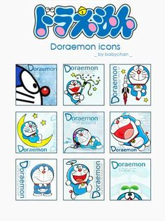 DORAEMON. HE WAS SOMEHOW INVOLVED IN MY CHILDHOOD...