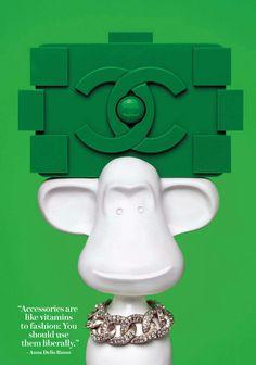 Chanel Lego bag