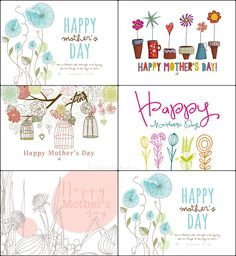Free Happy Mother's Day Printables from LostBumblebee