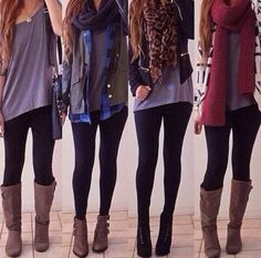 Another four lovely autumn outfits
