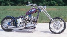 Michael Bailey first bought this Harley-Davidson in 1974, but 20 years passed before he began his two-year-long chopper project. The end result is Purple Haze. The original Panhead V-twin remains at 74 cubic inches, but many parts have been replaced with modern, high-performance substitutes.