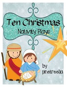 Nativity Shadow Drama ( very cool idea for a christmas play ...