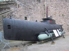 Sous-marin de type Seehund - Château de Brest