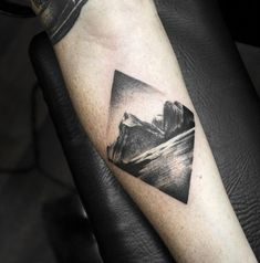 New Zealand landscape tattoo by @shirmaineanne Soular Tattoo - Christchurch - New Zealand