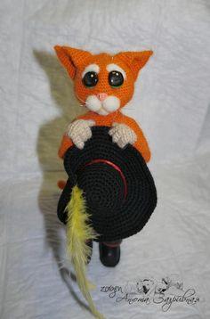 Puss in Boots - I miei giocattoli - Gallery - ammiratori amigurumi (giocattoli…