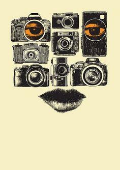 Camera Art | Illustration | Face