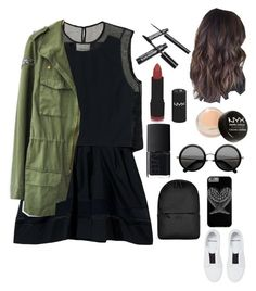 """Untitled #730"" by nikola-sperlikova ❤ liked on Polyvore featuring NYX, 3.1 Phillip Lim, Pierre Hardy, NARS Cosmetics and Rains"
