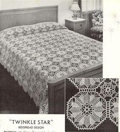 Crocheted Bedspreads Book 900 sk102 | skerin