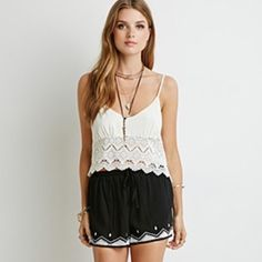 HOST PICK 9/16NWT embroidered shorts Brand new with tags make an offer! Size medium Forever 21 Shorts