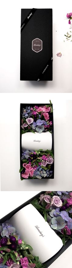 Bloomsbury's Flower box, best surprise gift with hidden present.