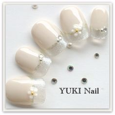 Korean Nail Art, Korean Nails, Lily Nails, Japanese Nail Art, Cute Acrylic Nails, Pretty Nails, Nail Designs, Hair Beauty, Weddings