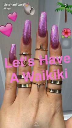 30 Trending Nail Arts Sexy Nails, Dope Nails, Stiletto Nails, Nails On Fleek, Coffin Nails, Gorgeous Nails, Pretty Nails, Super Cute Nails, Finger
