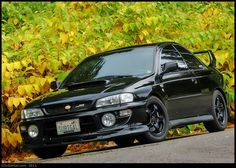 My 2001 Subaru Impreza 2.5 RS which I bought new off the showroom floor.