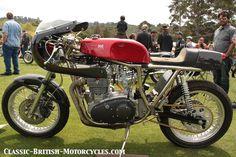 This stunning 1971 Rickman Metisse road racer has a 1000cc Trident stroker motor.