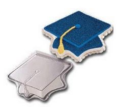 Wilton Topping Off Success Graduation Cap Graduate Mortarboard Cake Pan Mold * Special product just for you. Graduation Treats, Graduation Party Supplies, Graduation Decorations, Cake Decorations, Graduation 2016, Wilton Cake Decorating, Cake Decorating Supplies, Baking Supplies, Baking Tools