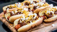 Griddle Chili Dog Recipe