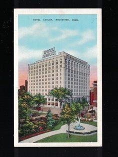 C 1935 Hotel Kahler Rochester Minnesota Post Card