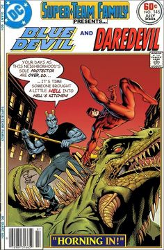 Super-Team Family: The Lost Issues!: Blue Devil and Daredevil
