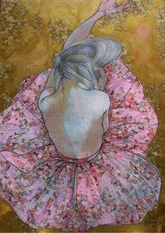 "Saatchi Art Artist Lena Kramarić; Painting, ""'' This is you 5 (Repetition) ''"" #art"