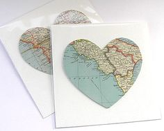 Send a cut-out map of where you live to your pen pal.