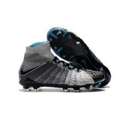315b6b4867c3 Buy Nike Hypervenom Phantom III FG Football Boots Grey Black Nike Soccer