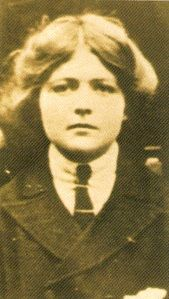 "Violet Mary Firth (1890-1946), aka ""Dion Fortune"", occultist, author, psychologist, teacher, artist, and mystic"