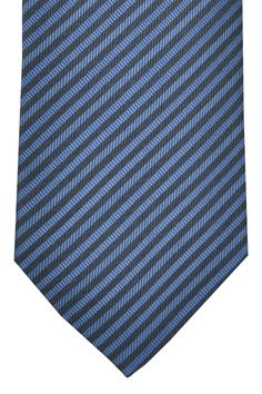 Dolce & Gabbana Tie Navy Midnight Blue Stripes 55% off outlet price.